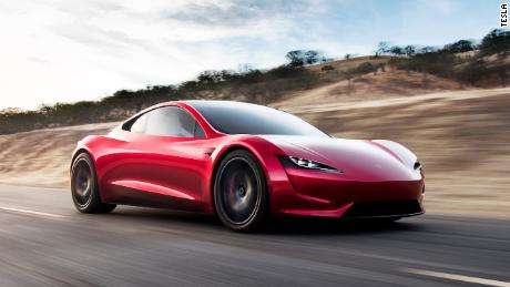 Tesla are aiming for its Roadster to be able to complete 620 miles per charge.
