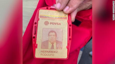 After dedicating most of his life to the Venezuelan oil industry, Rodolfo Hernandez says neither he nor his colleagues can afford the medicines they need.