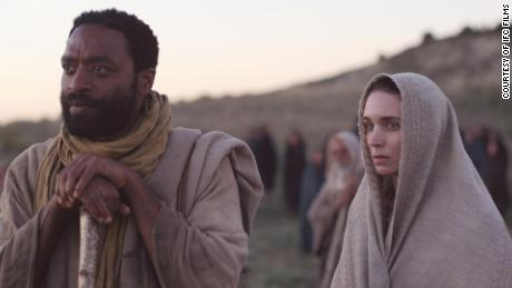 Chiwetel Ejiofor as the Apostle Peter and Mara as Mary Magdalene.