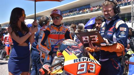 Marc Marquez, the King of COTA, lost his crown.