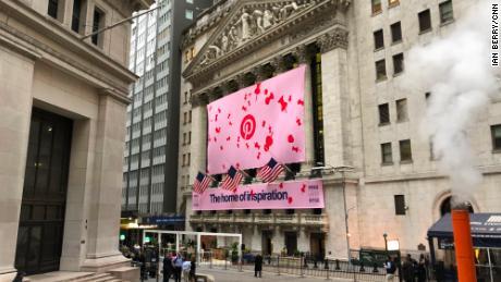 Pinterest pops 28% in its Wall Street debut