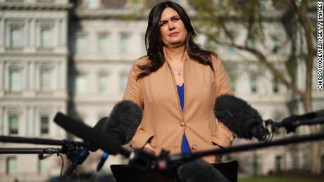 Sarah Sanders gab zu, dass sie die Presse des Weißen Hauses angelogen hatte. Hat sie noch Glaubwürdigkeit?