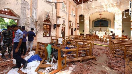 Bombs tear through Sri Lankan churches and hotels, killing 290 people