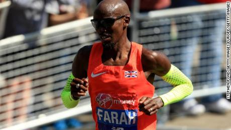 Farah set a British record at last year's London Marathon.