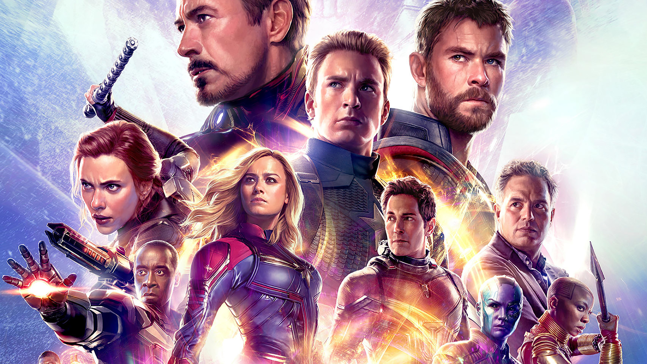 'avengers: endgame' has no end-credit scene, but it has this