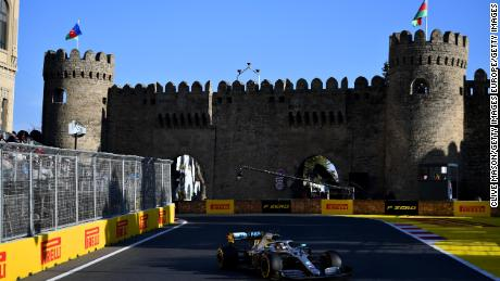 Lewis Hamilton completed a wonderful one-two finish for Mercedes.