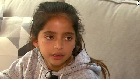 Girl shot in synagogue attack says 'he was aiming at the kids'