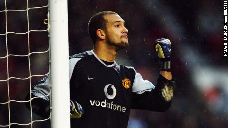 Howard spent four years at Manchester United, before joining Everton, where he spent nine years of his career.