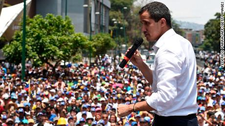 Trump admin seeking to get money to Venezuela's Guaido