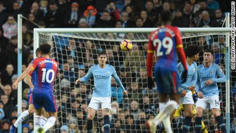 Andros Townsend's sensational effort helped Crystal Palace secure a shock 3-2 win at City.