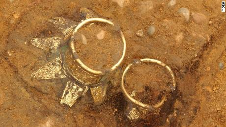 The secrets of the Anglo-Saxon tomb found behind the Aldi supermarket came out