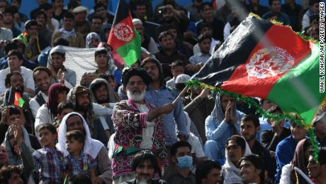 Fans flocked to the national stadium in Kabul to watch the Shpageeza Cricket League in action.