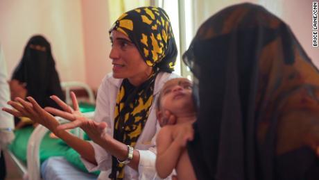 Nurse Mekkiyah Al-Aslami says the long-running war has made a terrible situation even worse.