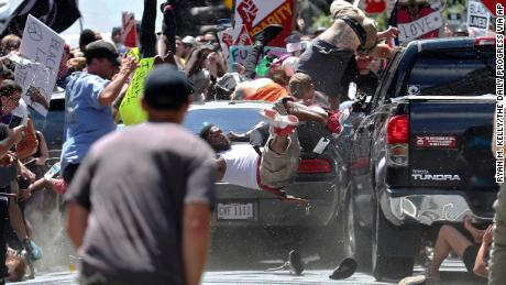 James Fields plowed into protestors at the Charlottesville rally.