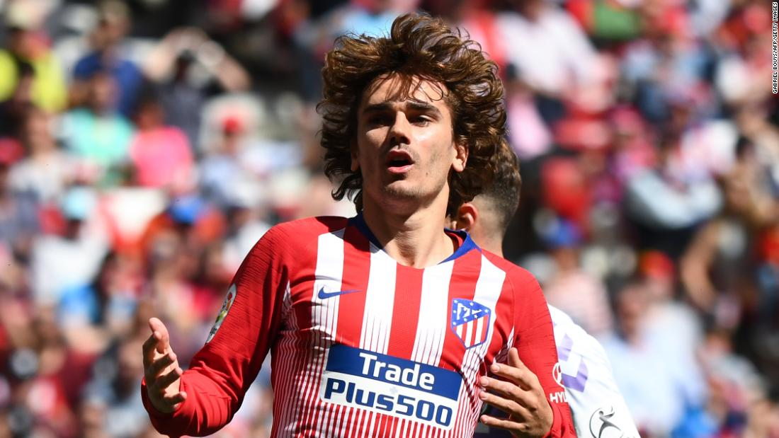 Image Result For Antoine Griezmann Barcelona Sign Atletico Madrid Forward