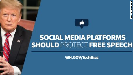 The White House on Wednesday launched a tool for people to report instances of social media bias.
