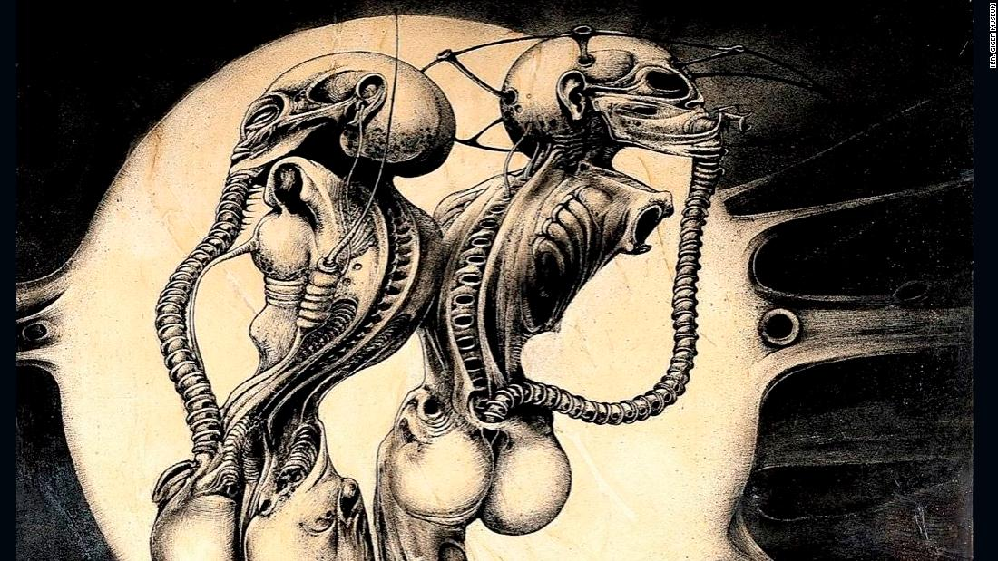 h r giger the