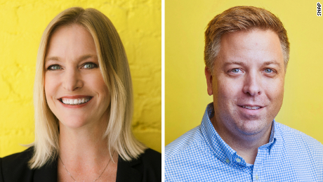 Lara Sweet (left) is Snap's new chief people officer, while Drew Anderson (right) will be the company's next CFO.