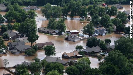 Drones are hurting rescue efforts in Tulsa as dangerous flooding continues