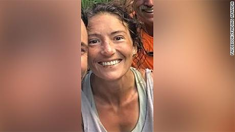 Amanda Eller was found walking in a ravine Friday, more than two weeks after she vanished on a hike.