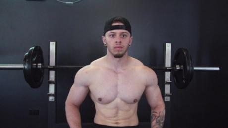 Ajay hopes to make a name for himself in the bodybuilding community by competeing against cisgender males.