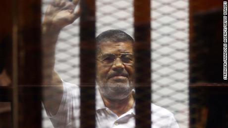 Egypt's Mubarak testifies in the trial of his ousted successor