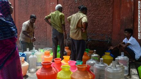India's sixth largest city is almost completely out of water
