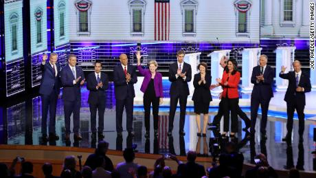 Fact-checking the first night of the first Democratic presidential debate