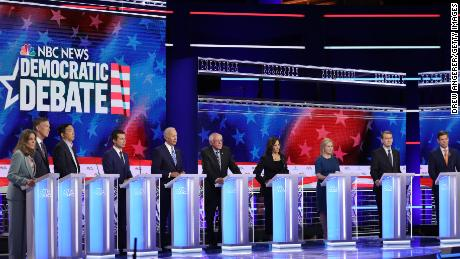 6 takeaways from the Democratic debate's second night
