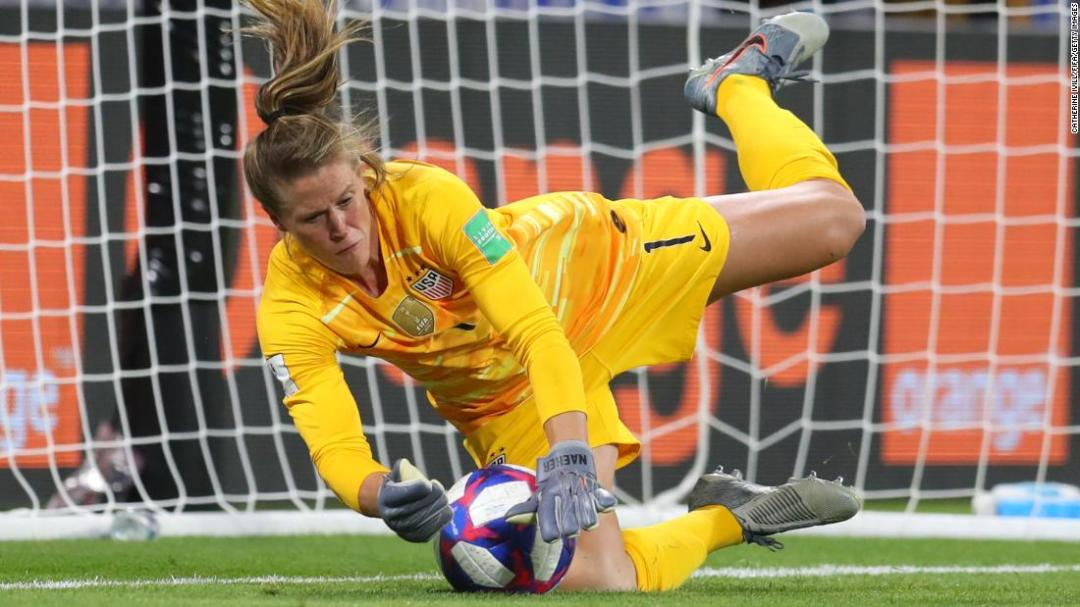 This was the day Alyssa Naeher became the hero of the US women's soccer team