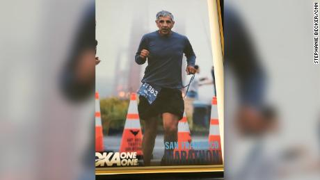 Meza's marathon times had generally been dropping over the past 10 years -- from around 3:30 a decade ago to under three hours by 2014, The Los Angeles Times reported.