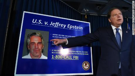 The American lawyer for the southern district of New York, Geoffrey Berman, announced the charges against Jeffery Epstein on July 8, 2019.