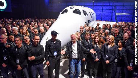 Richard Branson is taking Virgin Galactic public