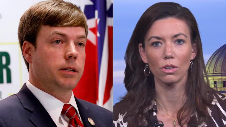 candidate denies female reporter