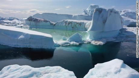 Greenland's ice sheet just lost 11 billion tons of ice -- in one day