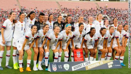 Giudice respinge NOI donne's squadra nazionale di calcio'uguale di pagamento dei crediti