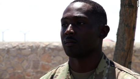 When chaos erupted in El Paso, this Army soldier's first response was to save the lives of children