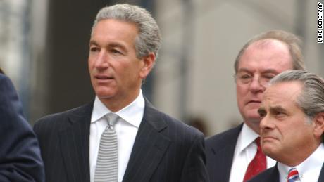 Charles Kushner, left