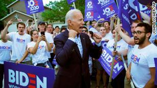 What to make of Joe Biden's Iowa front-runner status