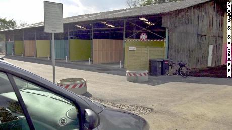These drive-in booths in the German city of Cologne were introduced in 2001.