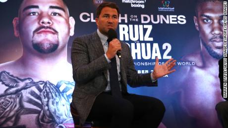 Boxing promoter Eddie Hearn says the Saudi Arabia rematch could change boxing forever.