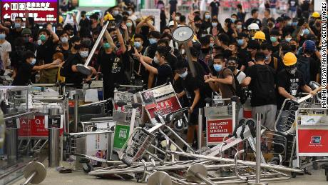 BlackRock postpones big event in Hong Kong as protests heat up