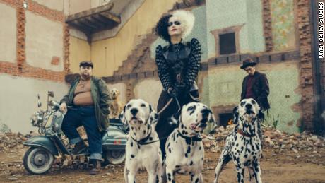 Emma Stone in 'Cruella'
