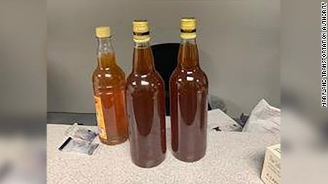 He was jailed for nearly three months after airport officials claimed he was traveling with liquid meth. It was honey