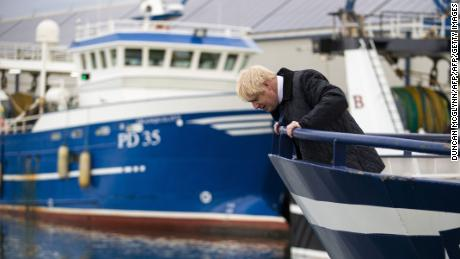 Britain's Prime Minister Boris Johnson doesn't have many options left.