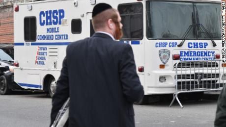 Orthodox communities are running their own security units in addition to coverage by police.