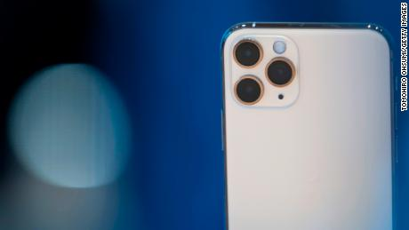 The iPhone 11 Pro comes with three cameras.