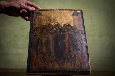 Cimabue masterpiece Christ Mocked found in French kitchen sells for over $26M CNN Style