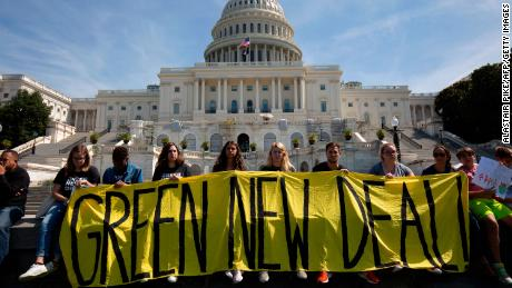 Debate on climate policies such as the Green New Deal by political leaders is likely to increase public awareness of climate change, say the researchers.