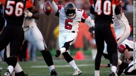 Andersen calci di 39 yard field goal per gli Atlanta Falcons contro i Cincinnati Bengals.